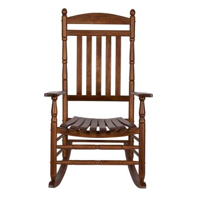 Rhode Island Oak Wood Outdoor Porch Rocker