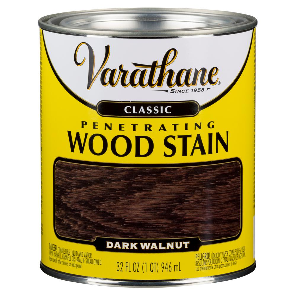 1 qt. Dark Walnut Classic Wood Interior Stain (2-Pack)