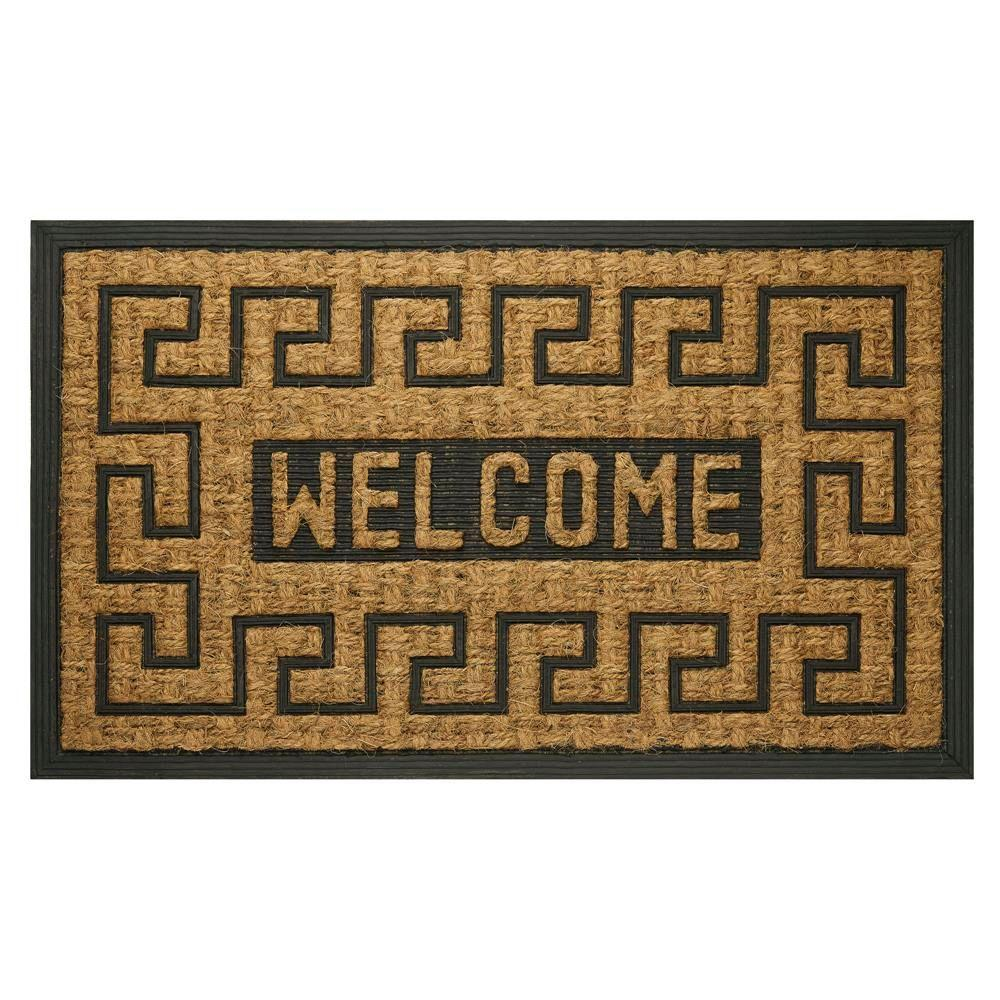 Achim Welcome Key 18 In X 30 In Coco Door Mat Com1830wk6