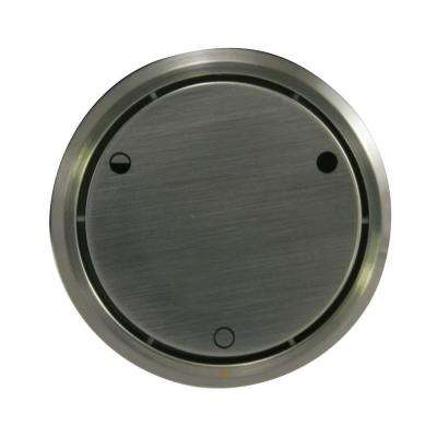 Round Replacement, Full or Partial Closing Metal Overflow in Satin Nickel