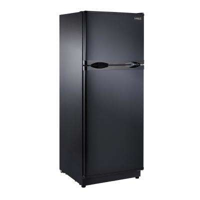 10.3 cu. ft. 290 l Solar DC Top Freezer Refrigerator Danfoss/Secop Compressor in Black