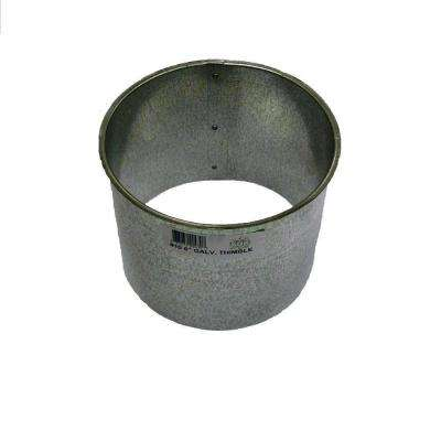 6 in. Smoke Pipe Wall Thimble