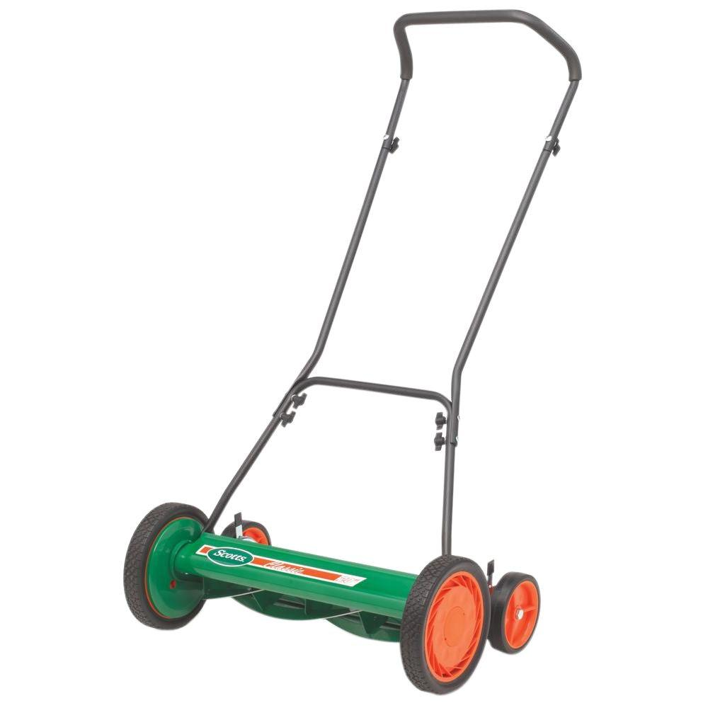 Reel Mower Grass Catcher 20 In Rear Tracking Wheels Lawn Garden Wiring Diagram For Scotts Manual Push New Ebay