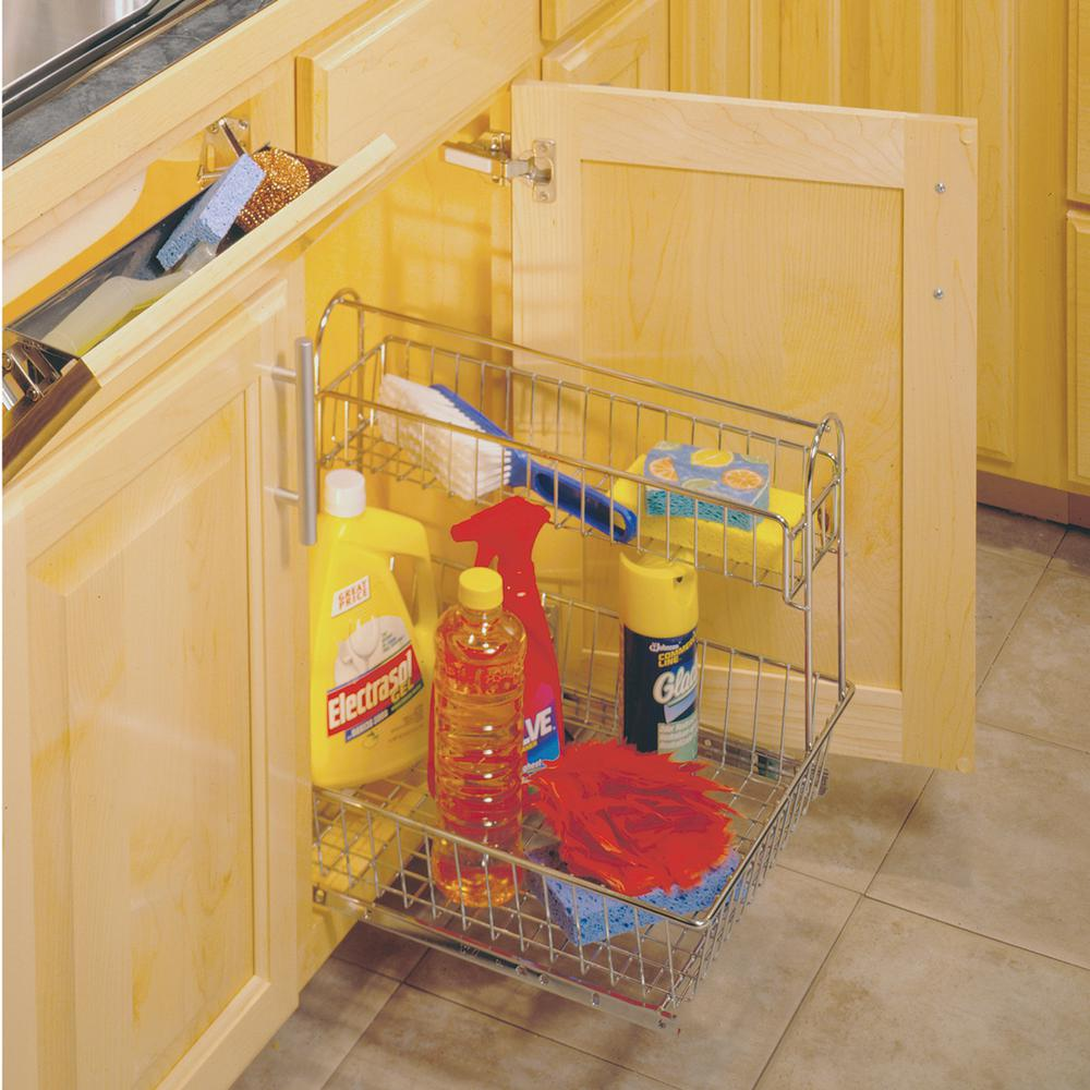 15.44 in. x 15.13 in. x 18.75 in. Multi-Use Basket with