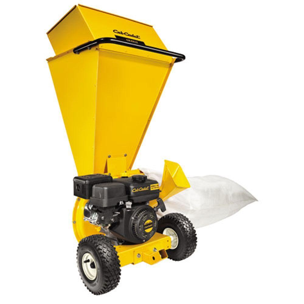 2 in. 208 cc Gas 2-in-1 Upright Chipper Shredder