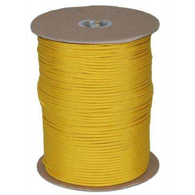 1000 ft. Paracord Spool in Yellow