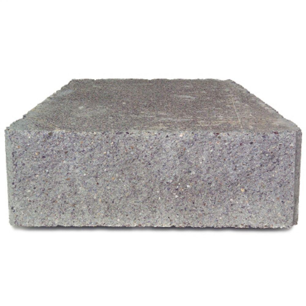 Diamond Straight Gray Concrete Wall