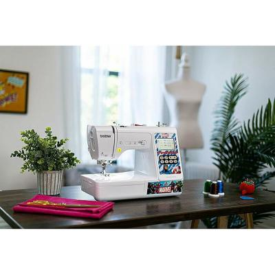 Brother-Marvel Themed 2-in-1 Sewing and 4 in. x 4 in. Embroidery Machine with Color Touch LCD Screen