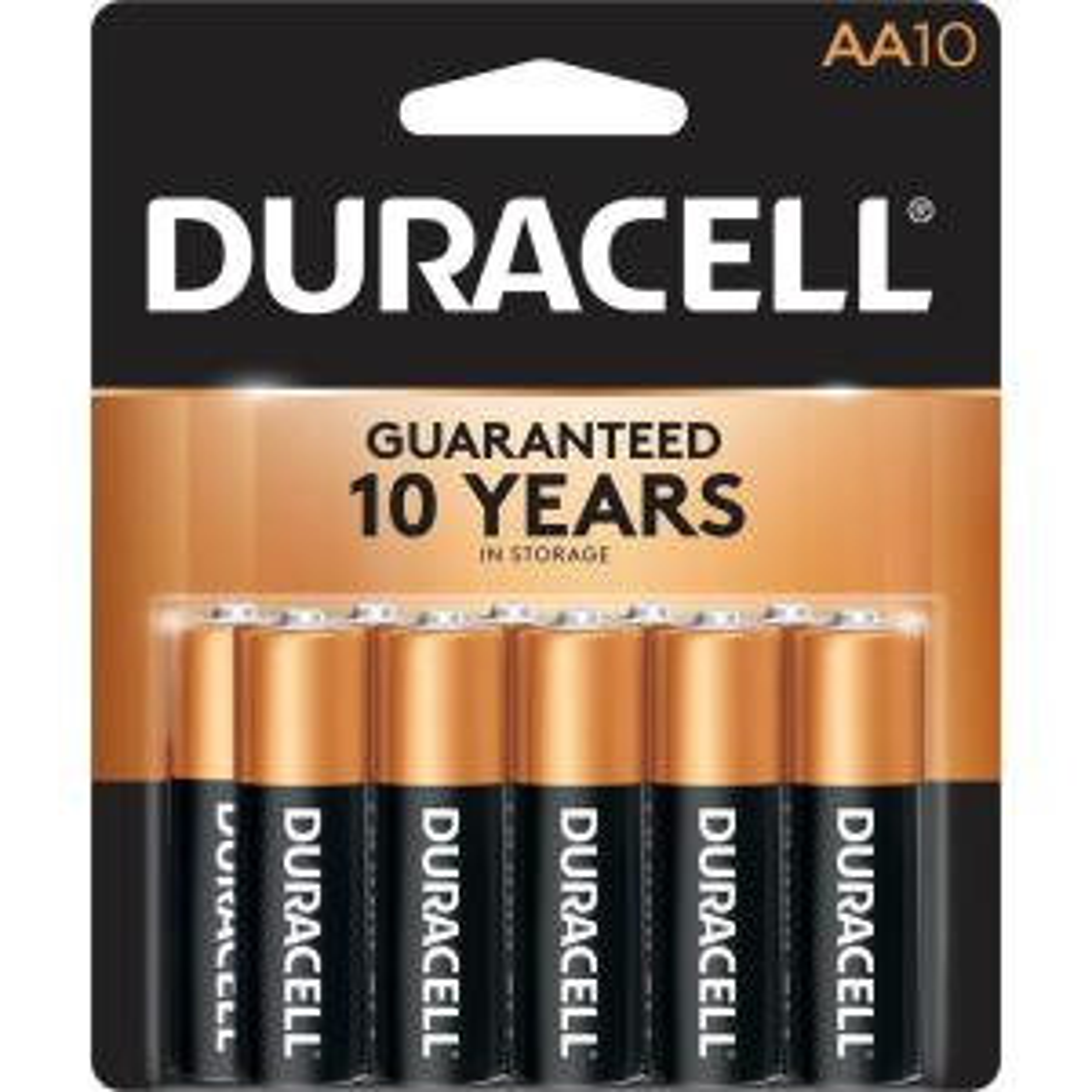 Coppertop Alkaline AA Battery (10-Pack)