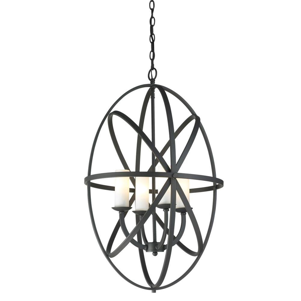 Filament Design Gala 4-Light Bronze Pendant-CLI-JB-032635