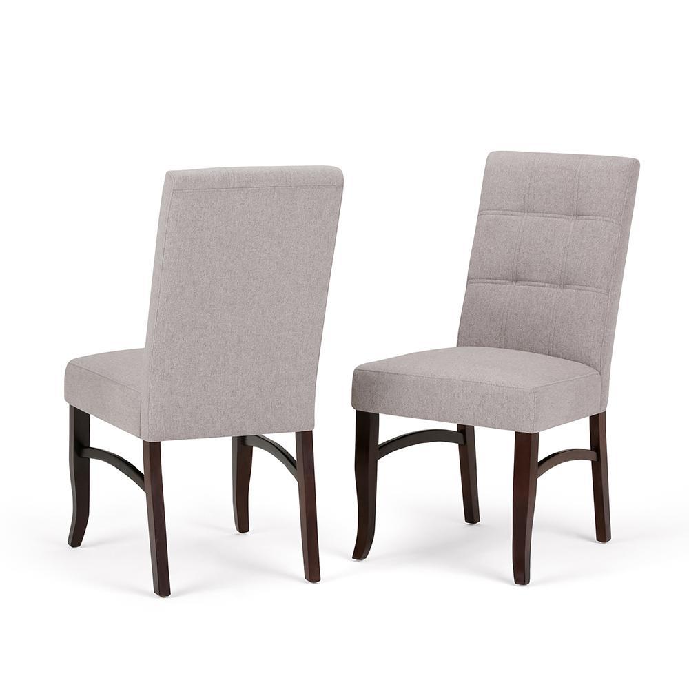 Ezra Cloud Grey Deluxe Dining Chair (Set of 2)