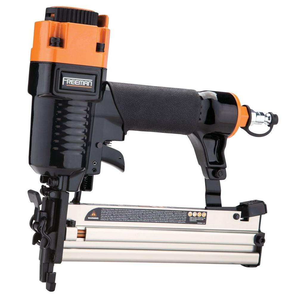 1-5/8 in. x 18-Gauge Narrow Crown Stapler with Quick Release