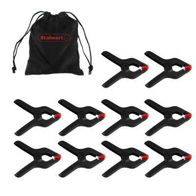 4.75 in. Spring Clamps Set (10-Piece)