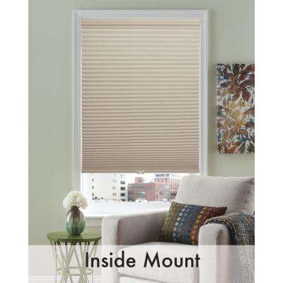 Wheat Linen 3/8 in. Cordless Light Filtering Cellular Shade
