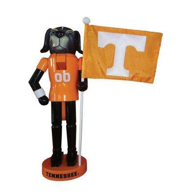 12 in. Tennessee Mascot Nutcracker with Flag