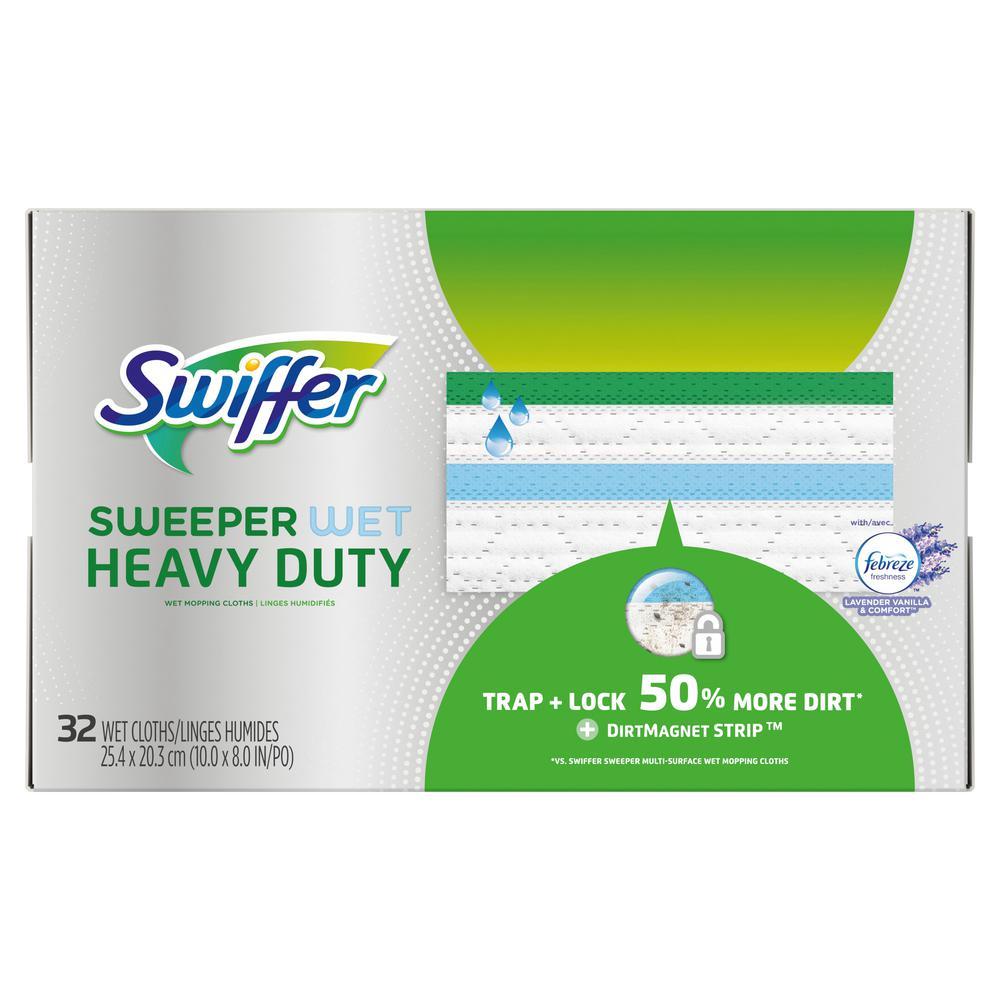 Swiffer Sweeper Wet Heavy Duty Lavender