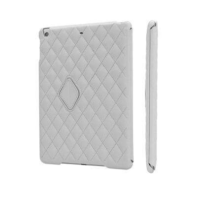 Quilted Smart Cover Case for iPad Air 2 - White