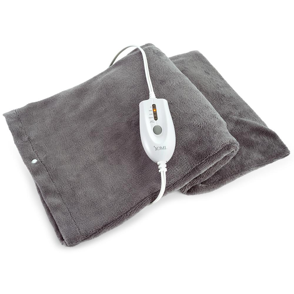 dmi electric heating pad with moist heat 619 5133 1900 the home depot