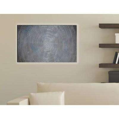 47.24 in. x 23.62 in. Infinity Hand Painted Wood Wall Art Decor