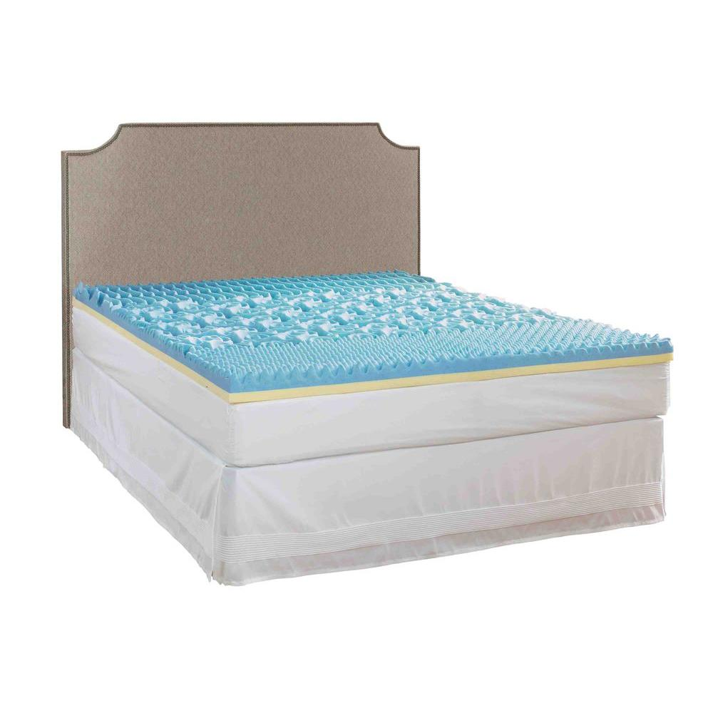 Rest Rite 3 in. California King Gel Mattress Pad