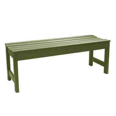 Lehigh 48 in. 2-Person Dried Sage Recycled Plastic Outdoor Picnic Bench