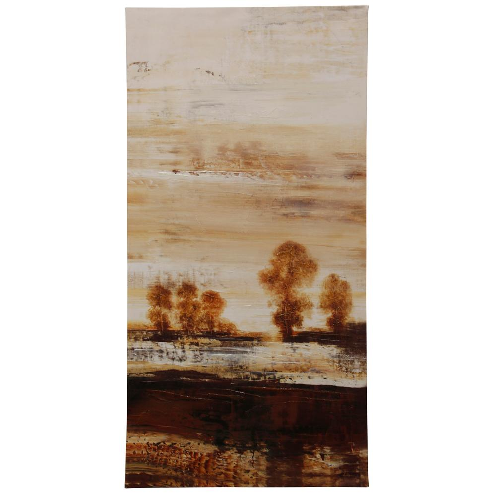 StyleCraft Purview I Multicolored Canvas Wall Art was $98.99 now $30.32 (69.0% off)