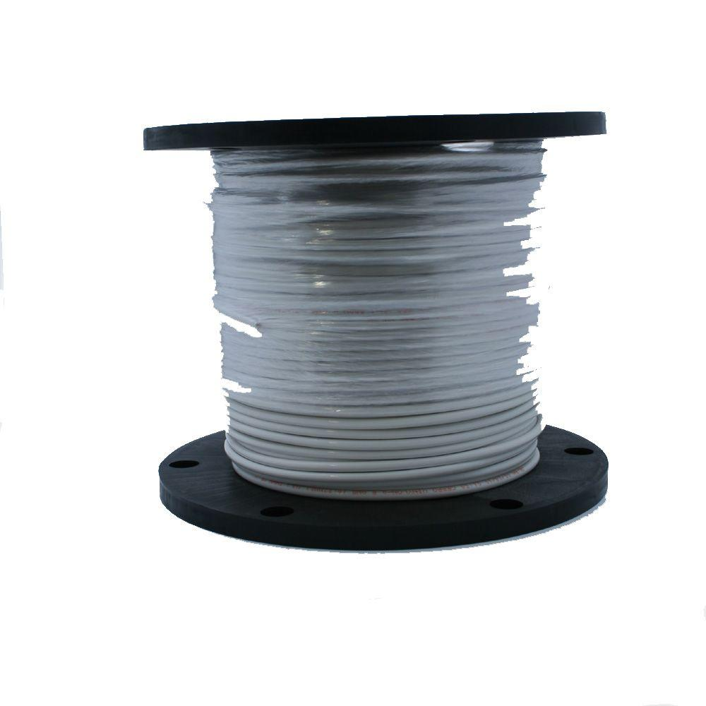 2,500 ft. 14/19 White Stranded THHN Wire