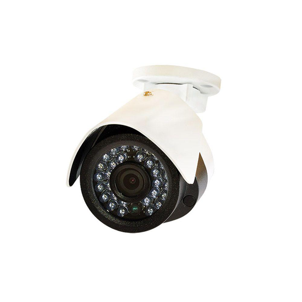 Indoor Outdoor 1080p Bullet 2MP IP Network Security Camera with 100