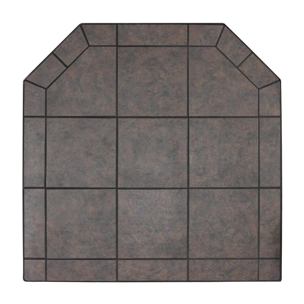Tile Hearth: US Stove American Classics 48 In. Type 2 Tartara Tile