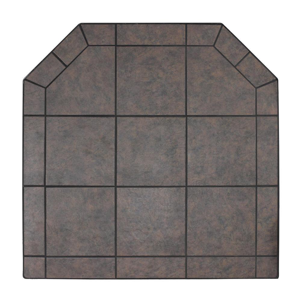 American Classics 48 in. Type 2 Tartara Tile Hearth Pad