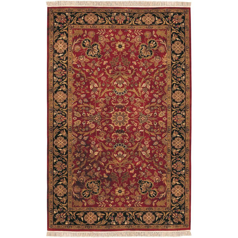 Artistic Weavers Layton Red 9 ft. 6 in. x 13 ft. 6 in. Area Rug