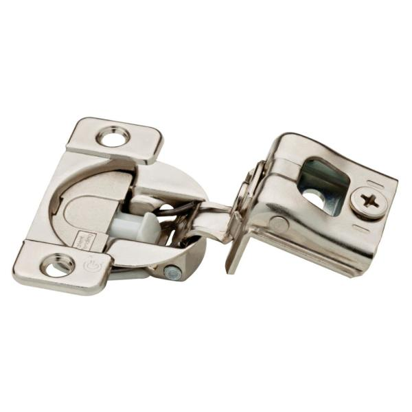 35 mm 105 Degree 1-1/4 in. Overlay Soft Close Cabinet Hinge (1-Pair)
