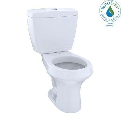 Rowan 2-Piece 1.0/1.6 GPF Dual Flush Round Toilet in Cotton White