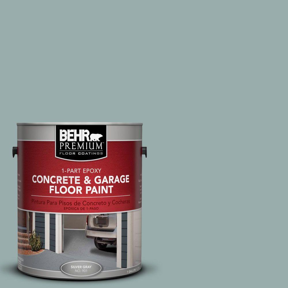 BEHR Premium 1-Gal. #PFC-46 Barrier Reef 1-Part Epoxy Concrete and Garage Floor Paint