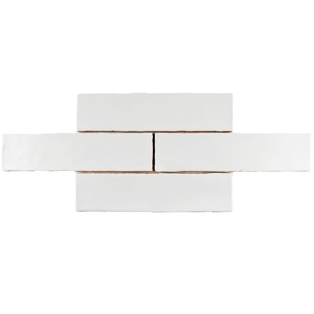 Merola tile chester matte bianco 3 in x 12 in ceramic wall tile 1 merola tile chester matte bianco 3 in x 12 in ceramic wall tile dailygadgetfo Gallery