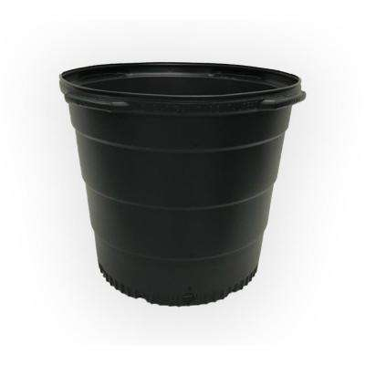 15 Gal. Plastic Round Nursery Trade Pots (480-Pack) ( 51.71 liters / 13.66 actual gallons)