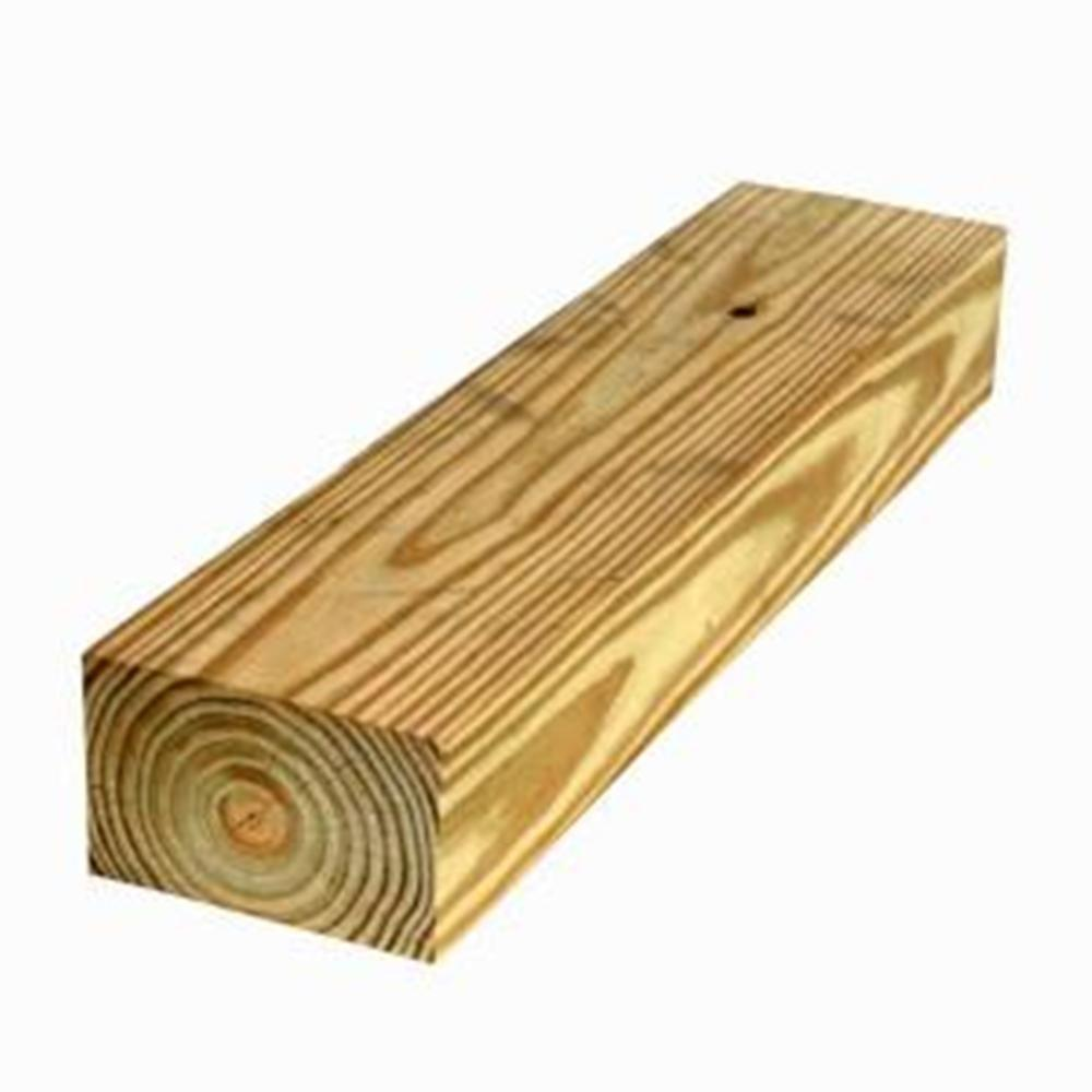 4 in. x 6 in. x 12 ft. #2 4B Pressure-Treated Timber