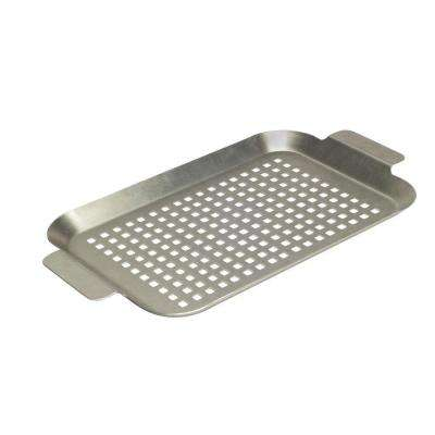 Stainless Grid with Side Handles - Small