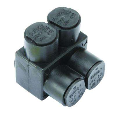 UV Insulated 2-Port/1-Sided Connector (5-Pack)
