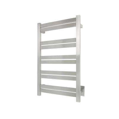 Elevate Grande 10-Bar Electric Towel Warmer in Brushed Stainless Steel