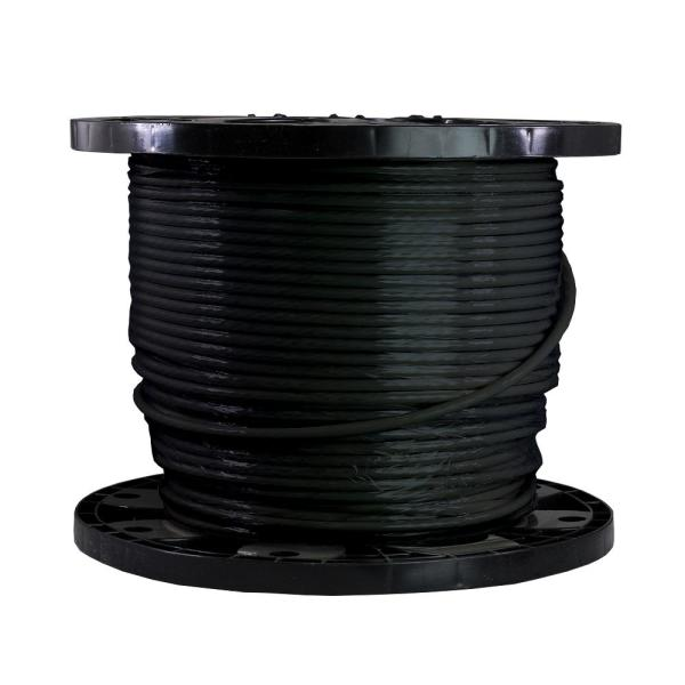 500 ft. 6/19 Black Stranded THHN Wire