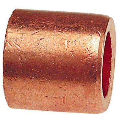 1/2 in. x 3/8 in. Copper Flush Bushing