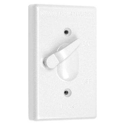 1 Gang Weatherproof Toggle Switch Cover