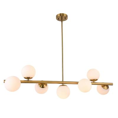 Nethi 7-Light Antique Brass Finish Chandelier