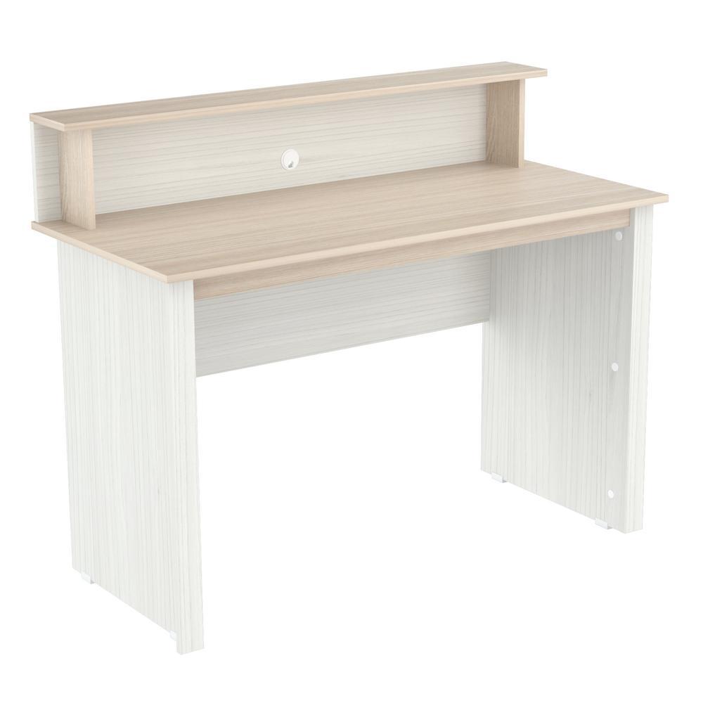 Laricina-White Beech Computer Desk