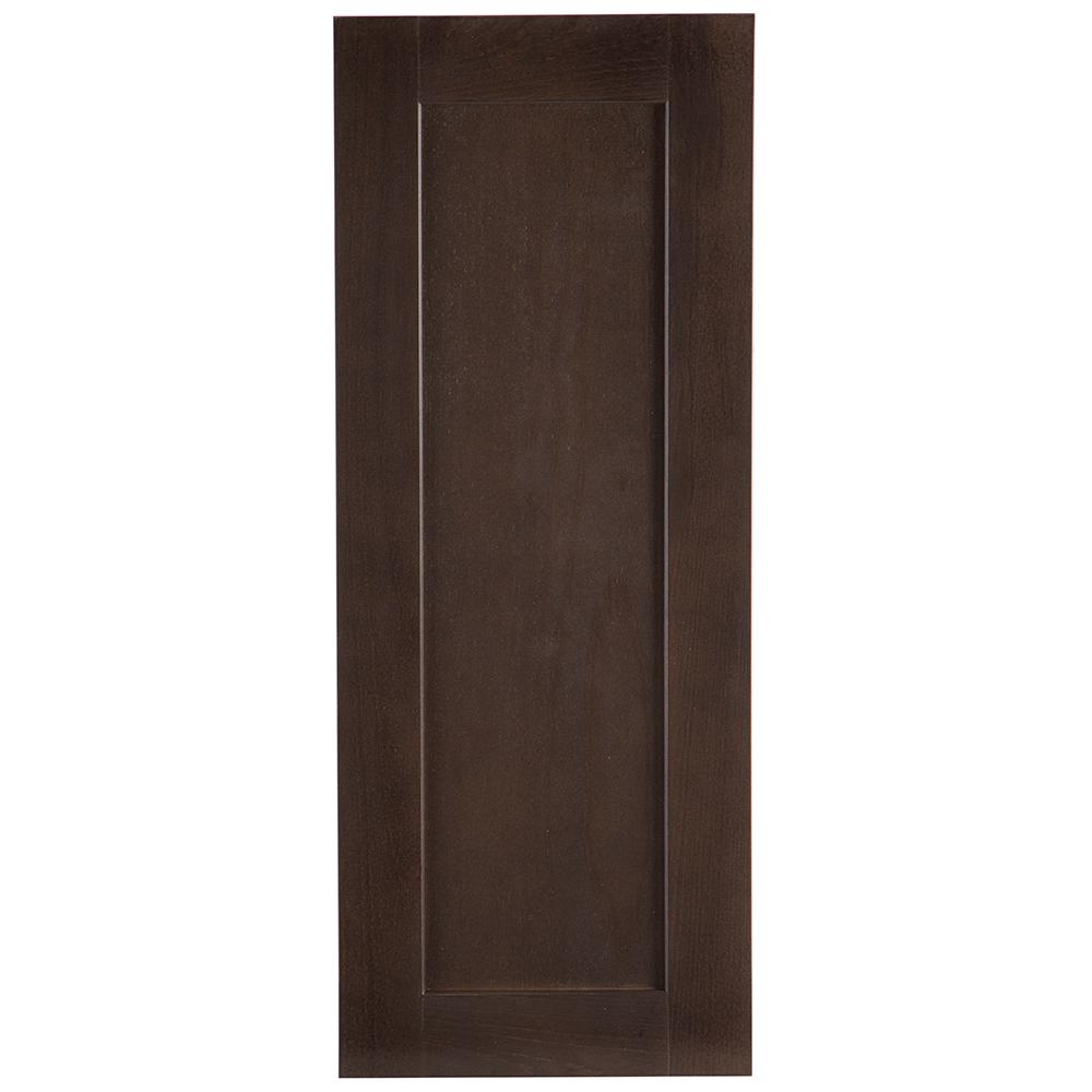 Cambridge Pantry Cabinets In Dusk: Hampton Bay 12.13x30.5x1.13 In. Decorative Wall End Panel