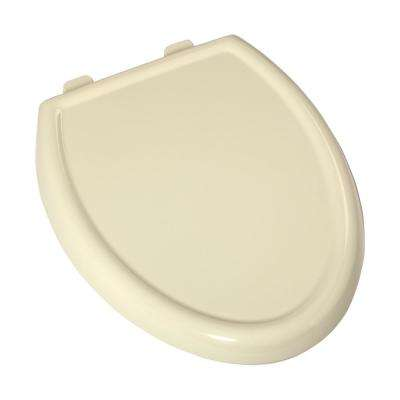 Cadet 3 Slow Close Elongated Closed Front Toilet Seat in Bone