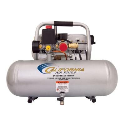 Industrial 2-Gal. 1 HP Ultra Quiet Oil-Free and Lightweight Electric Air Compressor