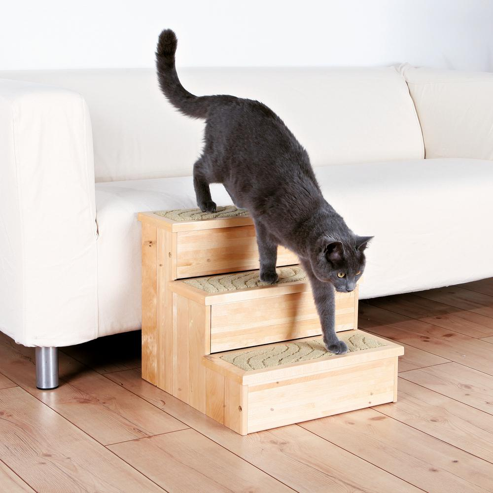 Trixie Natural Birch Wooden Pet Stairs