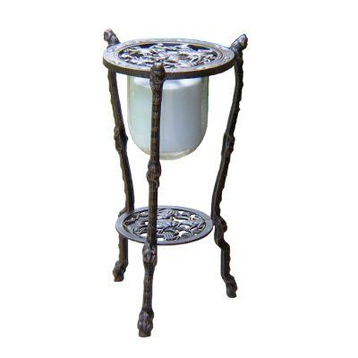 Oakland Living 27-1/2 in. Frog Candle Holder Table Stand